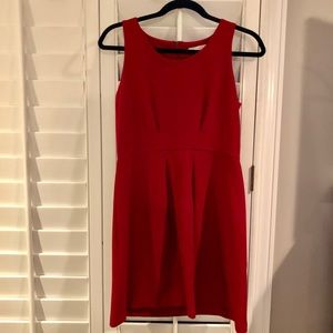 Red LOFT dress size 4